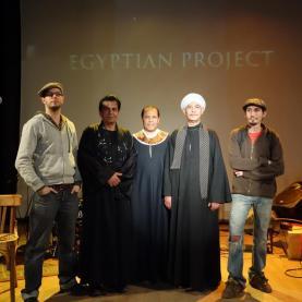 On stage at IFE Alexandria